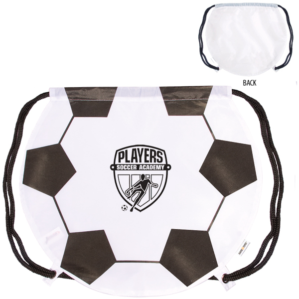 Printed GameTime! (R) Soccer Drawstring Backpack