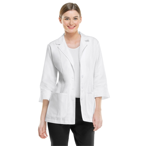 Promotional SA2330 Women's Three Quarter Sleeve Lab Coat  in White