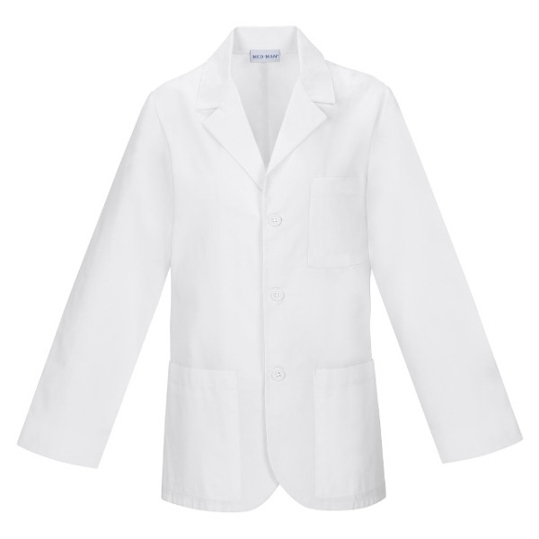 Promotional SA1389 Men's Consultation Coat  in White