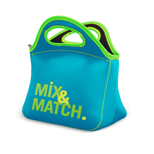 Personalized Klutch Neoprene Lunch Bag