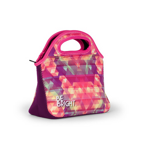 Printed Klutch (TM) Neoprene Lunch Bag