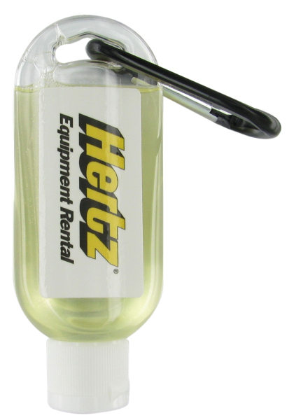 Imprinted 1.9 oz. Shower Gel with Carabiner