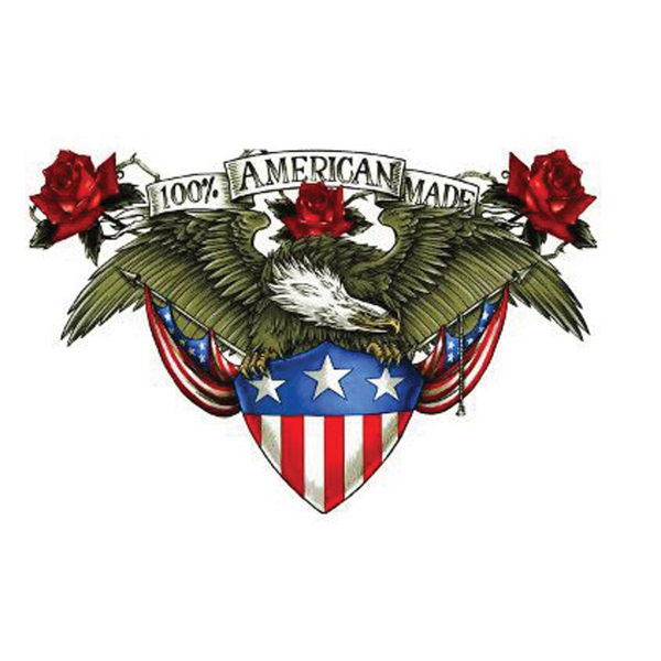 Customized 100% American Made Freedom Temporary Tattoo