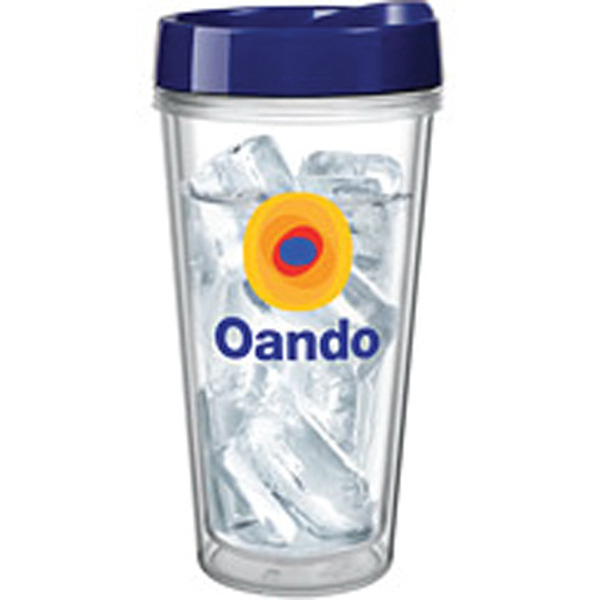 Customized 16 oz Clear Concept Tumbler