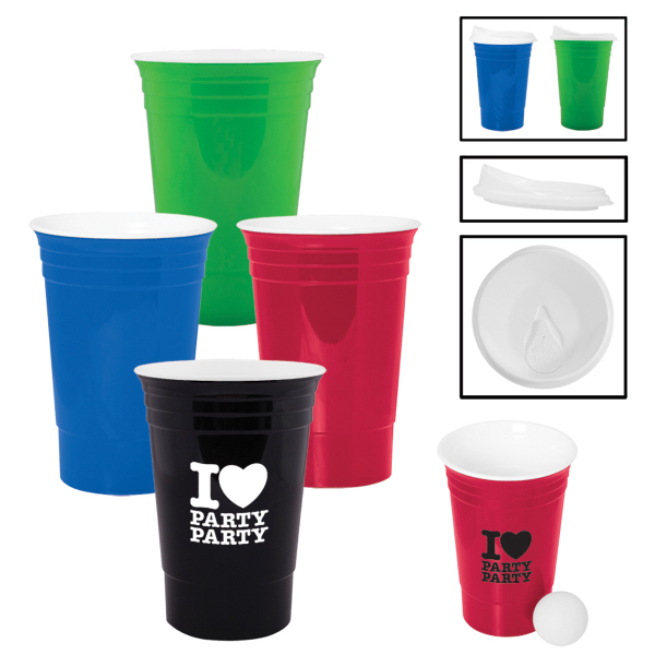 Custom 16 oz. Game Day Tailgate Cup
