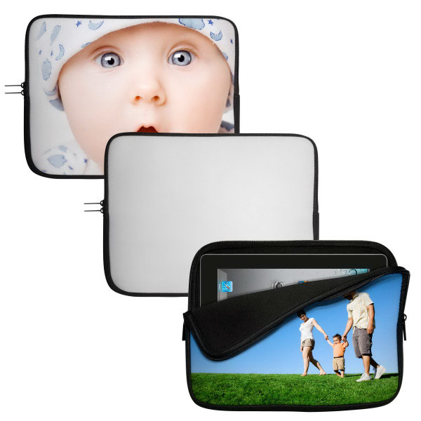 "Customized 17"" Neoprene Sublimation Laptop Sleeve/Cover"