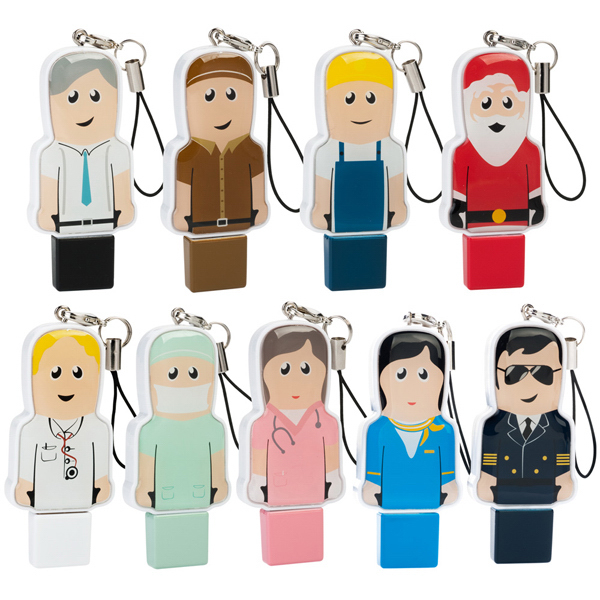Imprinted 2.0 USB Mini People