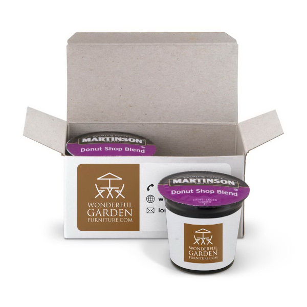 Printed 2 Piece Coffee Pod Gift Box