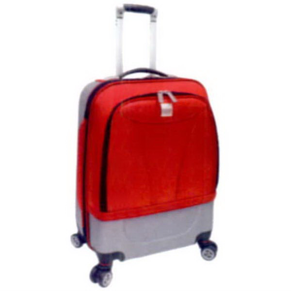 Printed 20-Inch Carry-On Hybrid Spinner Upright