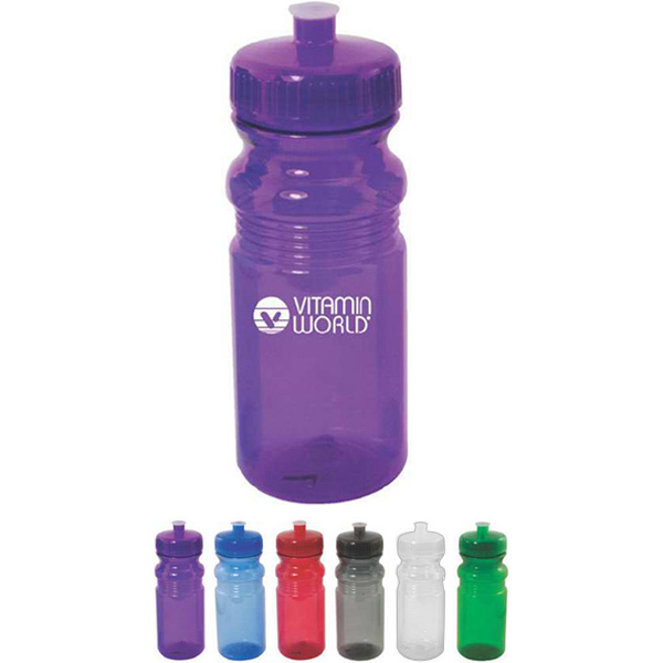 Imprinted 20 oz  Translucent Sport Bottle