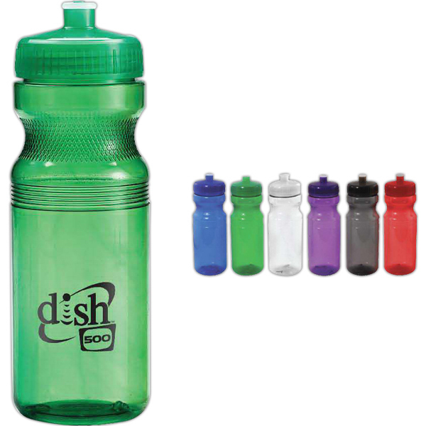 Personalized 24 oz Translucent Water Bottle