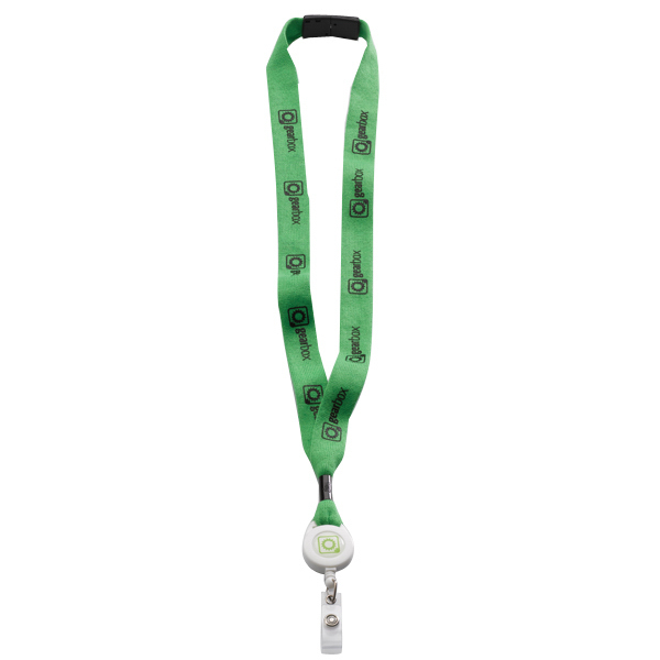 "Promotional 3/4"" Cotton Convenience Release Lanyard"
