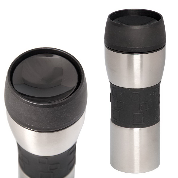 Imprinted 360 Degree 400 ml (13.5 oz) Travel Coffee Mug