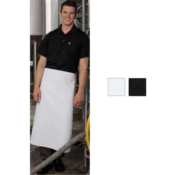 Printed 4-Way Long Apron - Folded