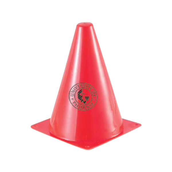 "Imprinted 7"" traffic cone"