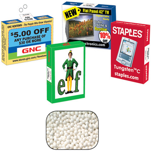 Personalized Advertising Mint box with Mints