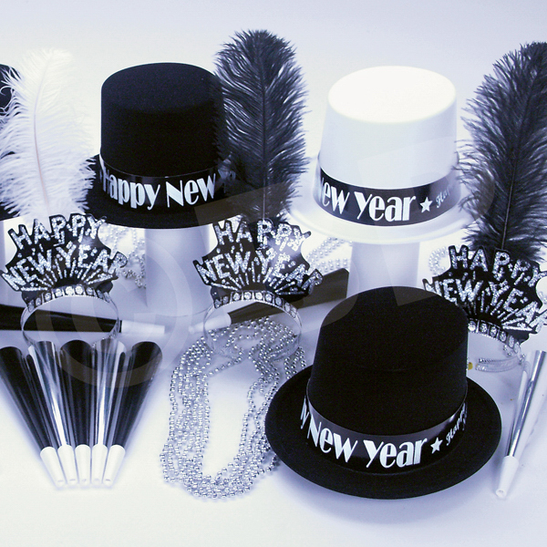 Personalized All That Jazz New Year's Party Kit for 50