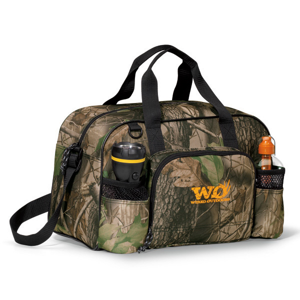 Personalized Apex Forest Camo Sport Bag