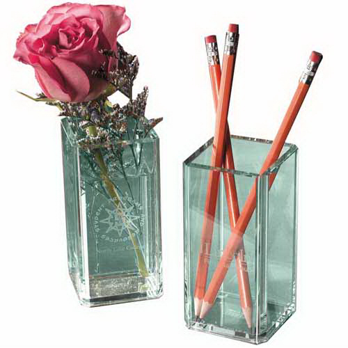 Promotional Atrium Glass Pencil Holder/Flower Vase