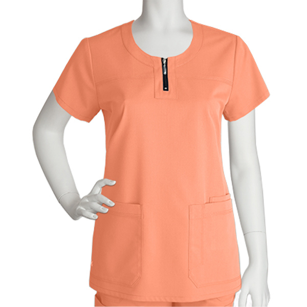 Promotional Barco NRG Women's Round Neck Zipper Top