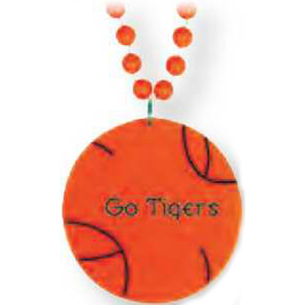 Personalized Basketball Medallion