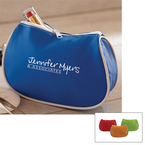 Printed Beauty - Deluxe Cosmetics Bag with Zipper