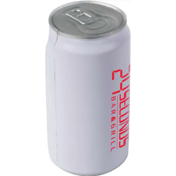 Imprinted Beverage Can Stress Reliever