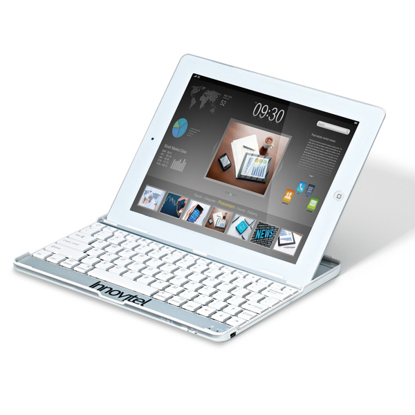 Printed Bluetooth Keyboard Snap On iPad (R) Case