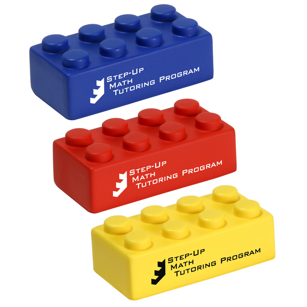Imprinted Building Block Stress Reliever