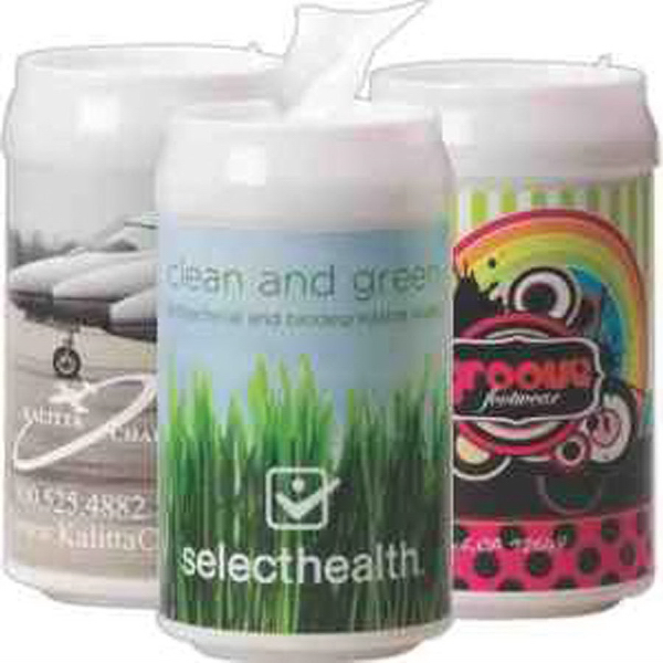 Promotional Can-Of Antibacterial Wipes