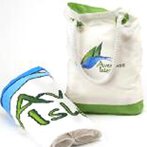 Personalized Castaway Tote (TM) and Towel