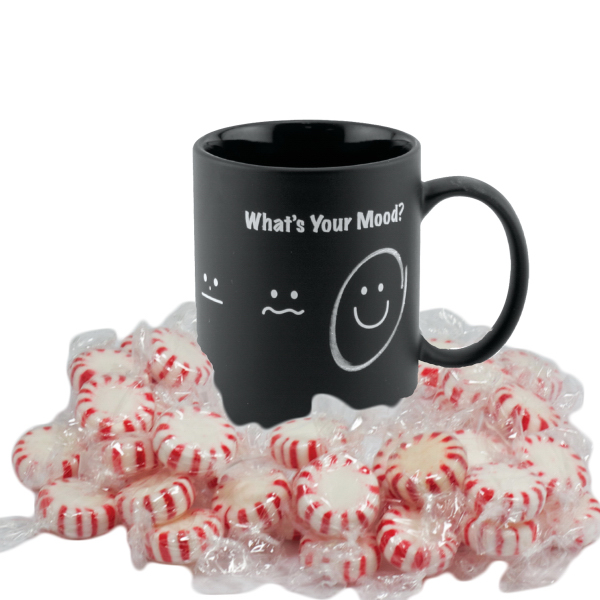Customized Chalk Mug - 11 oz. with Starlite Mints
