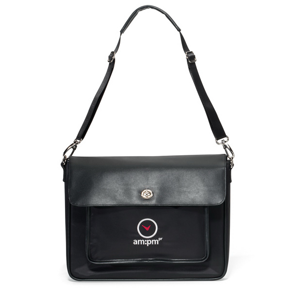 Imprinted Chloe Computer Messenger Bag
