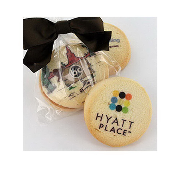 Promotional Classic Shortbread Cookie in Cello Bag