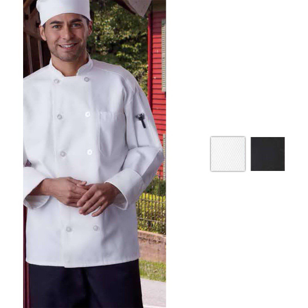 Custom Classis with Mesh Chef Coat - Black