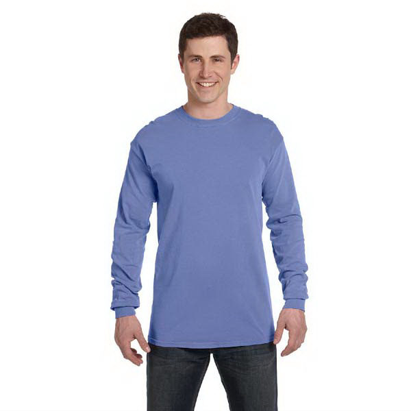 Customized Comfort Colors Ringspun Garment-Dyed Long-Sleeve T-Shirt