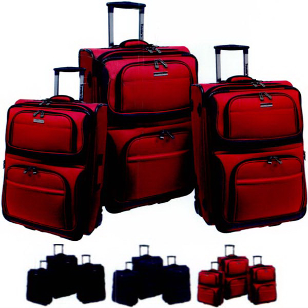 Printed Conventional II 3 Pc. Set Luggage