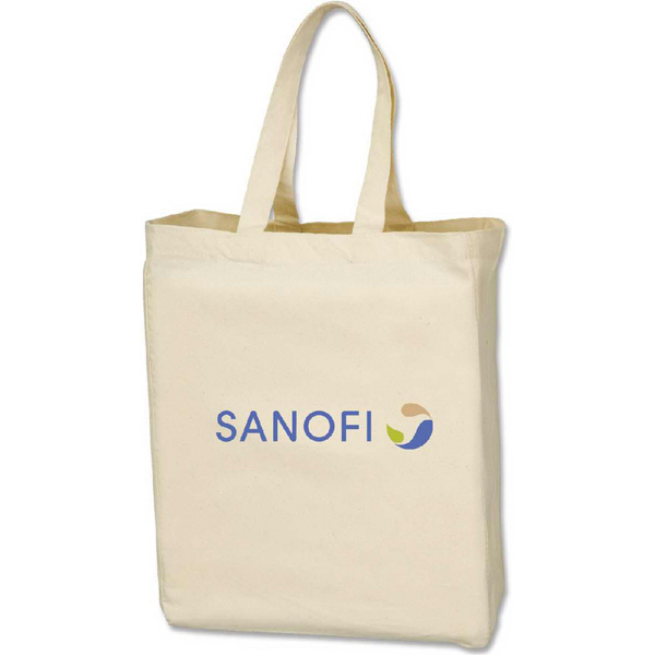 Printed Cotton Canvas Tote Bag