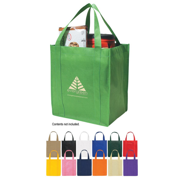 Personalized Custom Non-Woven Shopper Tote Bag