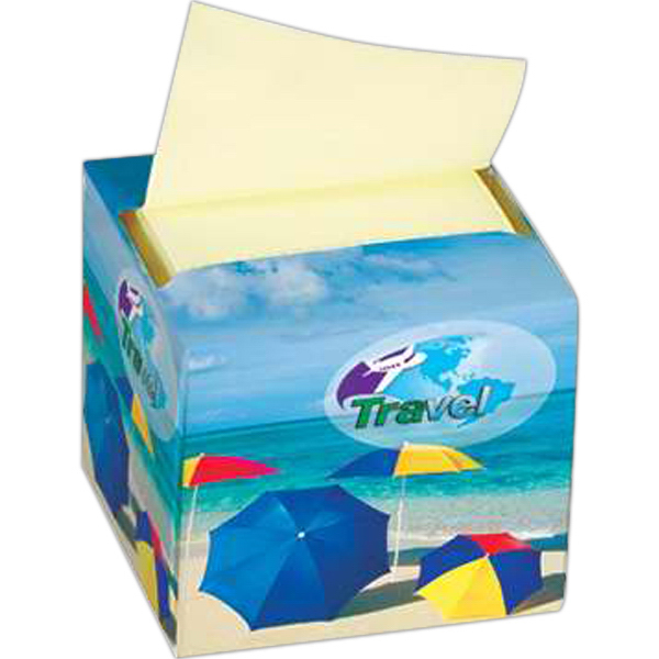 Imprinted Custom Printed Pop 'n Jot (TM) Dispenser Paks
