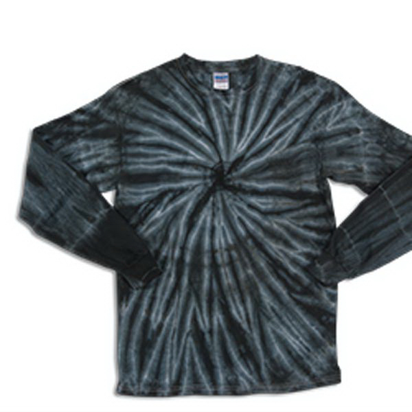 Imprinted Cyclone Long Sleeve Tie Dye Tee