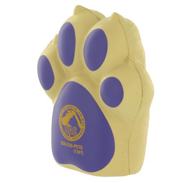 Customized Dog Paw Stress Reliever
