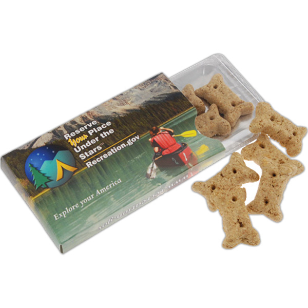 Custom Dog Treats in Sleeve