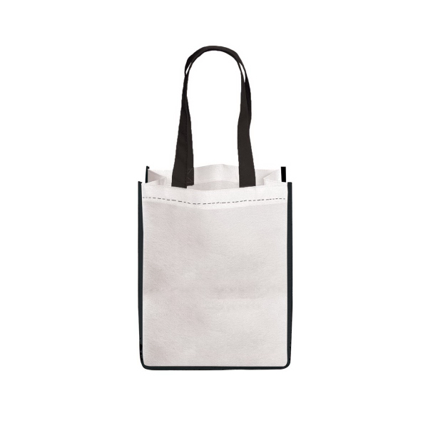 Printed E-Z Import (TM) Medium Sublimated Non Woven Tote