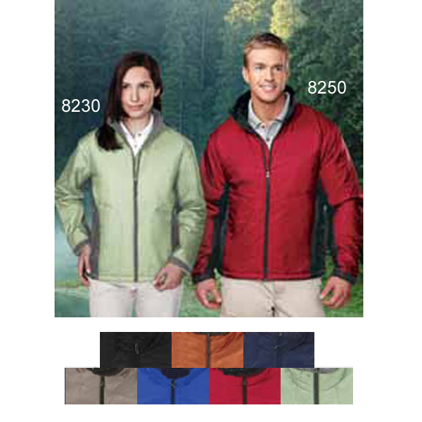 Printed Encompass - Men's Windproof/Water-Resistant Jacket