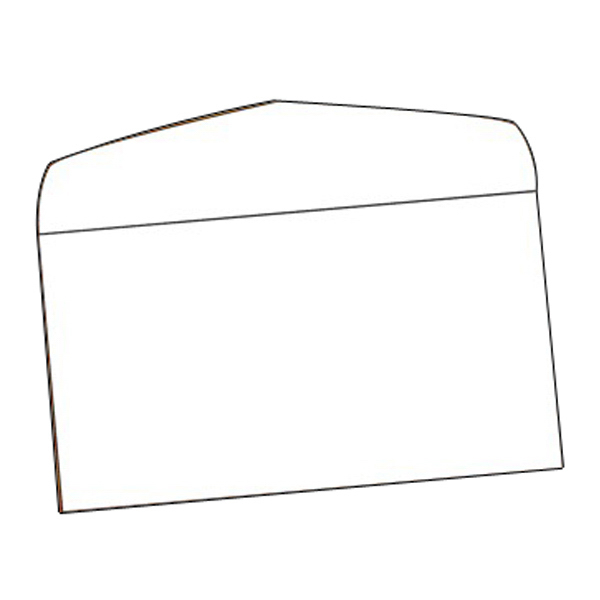 "Imprinted Envelope - #7 Plain White 6.75"" x 3.75"""