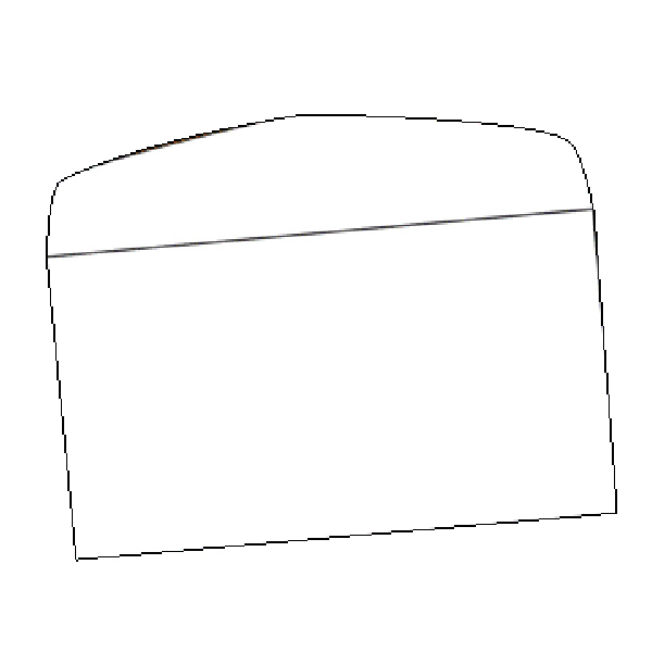 "Promotional Envelope - #A7 Plain White 7.25"" x 5.25"""