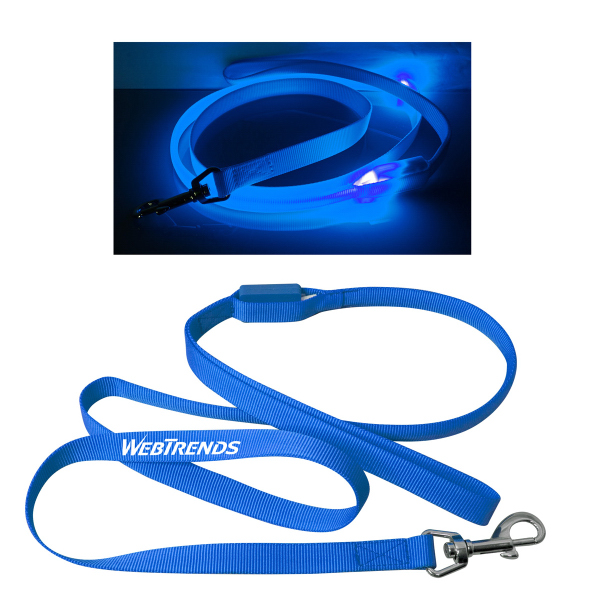 Personalized Flashing Dog Leash