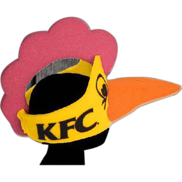 Printed Foam Animal Hat - Chicken