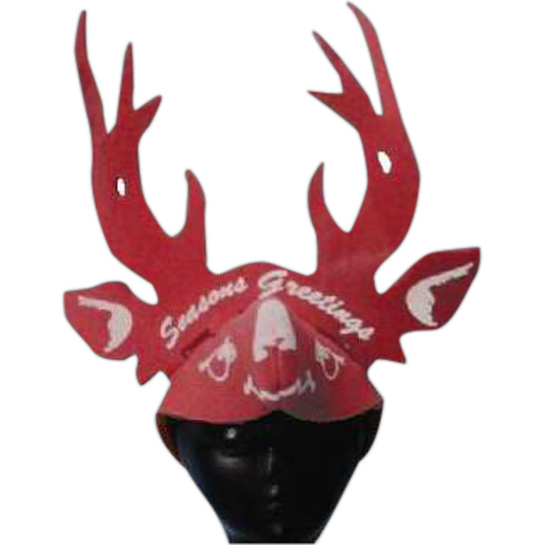 Customized Foam Animal Hat - Deer